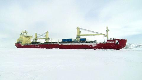RV Mirai Arctic Mission 2014 Post #7 – Nobody Here But Us