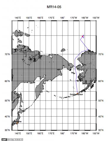 RV Mirai Arctic Mission 2014 Post #6 – Arctic Science Continues