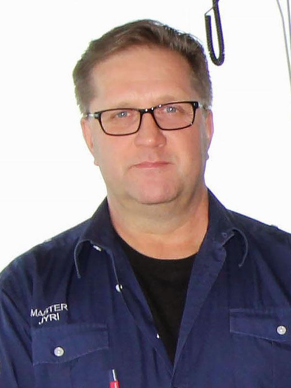 Captain Jyri Viljanen