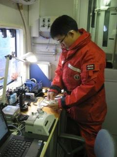 Ice Navigation RV Mirai Arctic Deployment #21